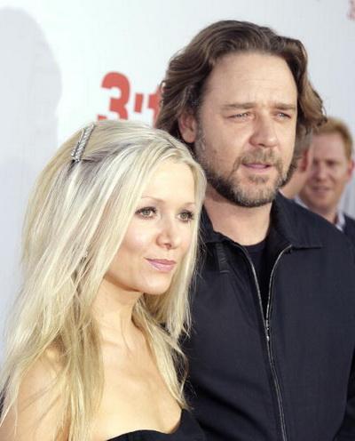 Рассел Кроу с супругой Даниэль Спенсер. Фото: Kevin Winter/Getty Images