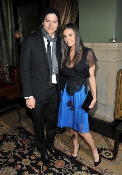 «Больше чем секс». Актер Эштон Катчер с супругой Деми Мур на показе фильма « Больше чем секс» в Нью-Йорке. Фото: Stephen Lovekin/Getty Images