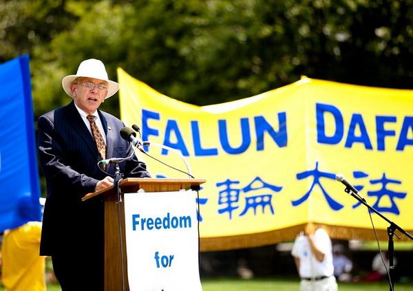 Уильям Дж. Мюррей, председатель Коалиции религиозных свобод. Фото: Великая Эпоха (The Epoch Times)