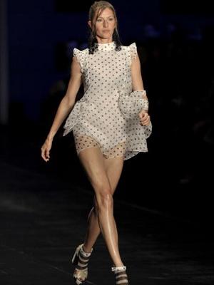 Бразильская модель Жизель Бундхен. Фото: MAURICIO LIMA/AFP/Getty Images