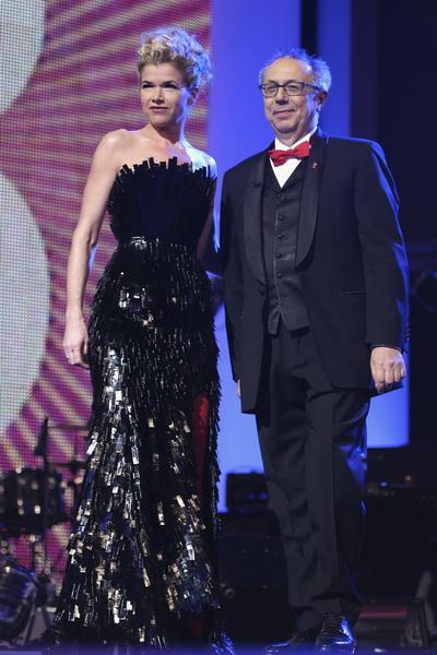 Анке Энгельке и Дитер Косслик на открытии Кинофестиваля Berlinale 2011. Фото: Sean Gallup/Getty Images