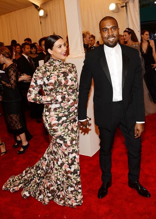 Ким Кардашьян и Канье Уэст. Фото: Larry Busacca/Getty Images