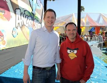 Компания Rovio, создатель игры Angry Birds, совместно с компанией Lappset Group построят тематические парки в стиле Angry Birds по всему миру. Первый парк будет построен в Финляндии уже летом 2012 года. Фото: Charley Gallay. Getty Images Entertainment