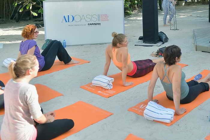 В Мадриде на площади Пласа Майор пройдёт массовый урок йоги. Фото: Gustavo Caballero/Getty Images