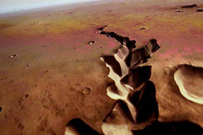 Поверхность Марса. Фото: Frederick M. Brown/Getty Images