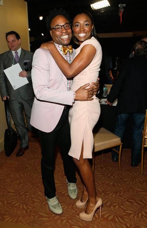 Билли Портер и Патина Миллер на пресс-приёме в Нью-Йорке. Фото: Jemal Countess/Getty Images for Tony Awards Productions