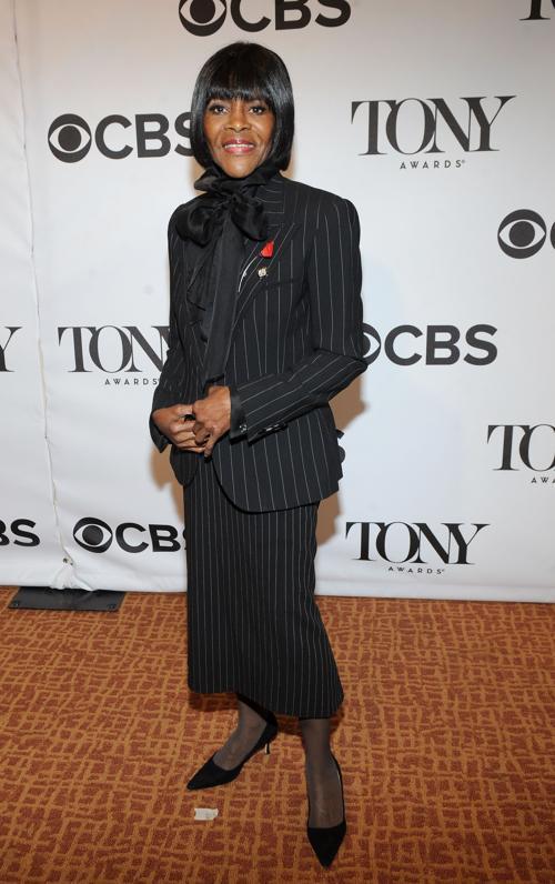 Сисели Тайсон на пресс-приёме в Нью-Йорке. Фото: Brad Barket/Getty Images for Tony Awards Productions