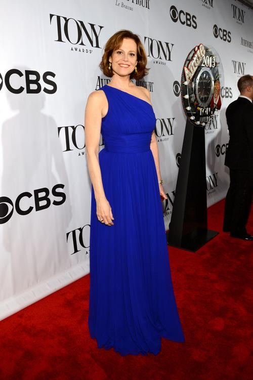 Актриса Сигурни Уивер на церемонии вручения премии «Тони» 2013. Фото: Larry Busacca/Getty Images for Tony Awards Productions
