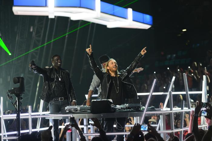 DJ David Guetta на церемонии Billboard Music Awards 2013 в Лас-Вегасе 19 мая 2013 года. Фото: Ethan Miller/Getty Images