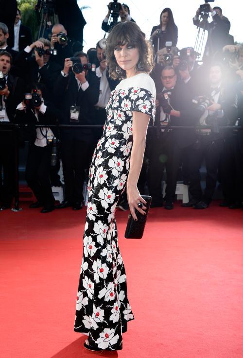 Милла Йовович на Каннском кинофестивале 2013. Фото: Pascal Le Segretain/Getty Images
