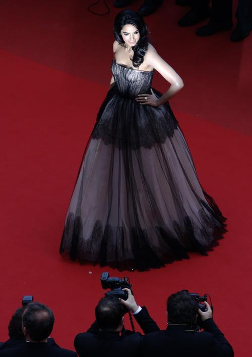 Малика Шерават на Каннском кинофестивале 2013. Фото: LOIC VENANCE/AFP/Getty Images
