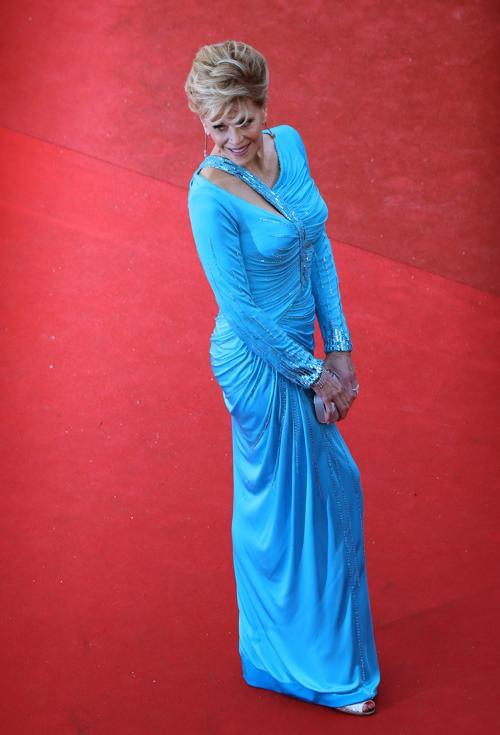 Джейн Фонда на Каннском кинофестивале 2013. Фото: LOIC VENANCE/AFP/Getty Images