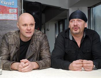 Александр Кулямин (слева), Дмитрий Марьянов (справа). Фото: Юлия Цигун/Великая Эпоха