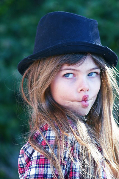 Скандал вокруг самой юной супермодели в мире. Фото:fashiontime.ru