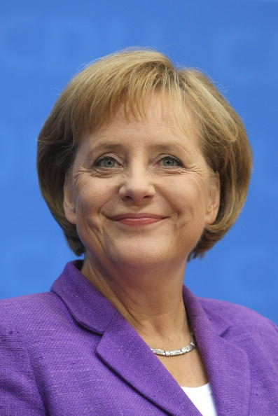 Фоторепортаж о канцлере Германии Ангеле Меркель. Фото: Alexander Hassenstein/Getty Images