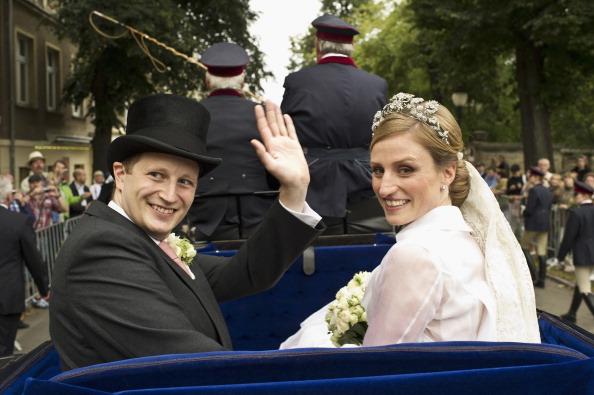Фоторепортаж со  свадьбы принца Пруссии. Фото: Andreas Rentz/Getty Images