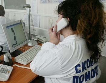 Диспетчер скорой помощи. Фото из архива РИА Новости