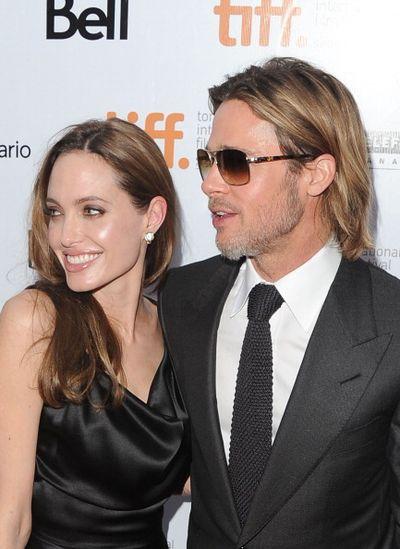 «Человек, который изменил все». Брэд Питт и Анджелина Джоли на кинофестивале в Торонто, Канада. Фото: Jason Merritt/Getty Images