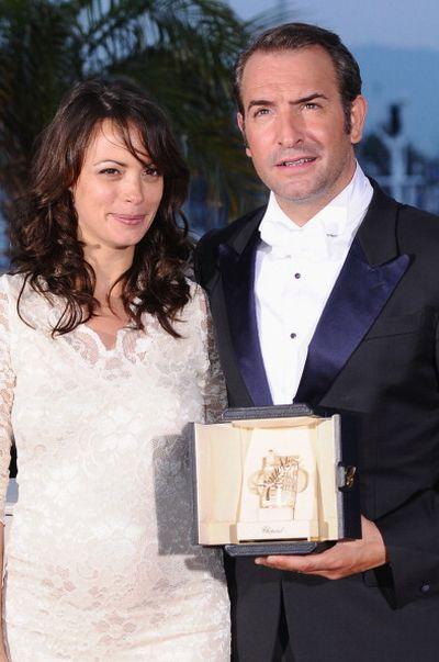 «Артист». Актеры Жан Джюжарден и Беренис Бежо представили картину «Артист» на 64-м кинофестивале в Каннах. Фото: Ian Gavan/Getty Images