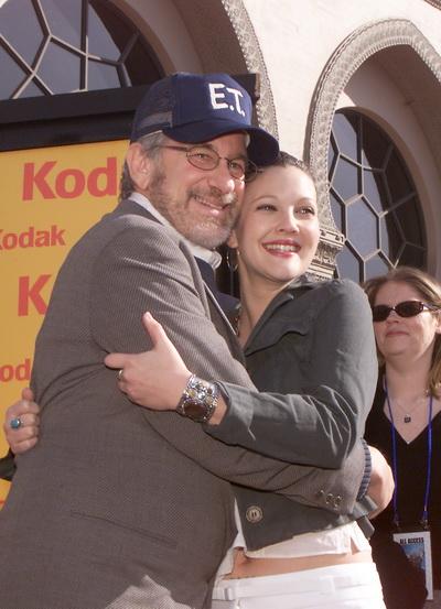 Дрю Бэрримор и Стивен Спилберг. Фото: Kevin Winter/Getty Images