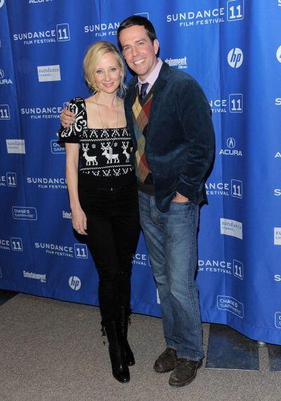 «Совсем не бабник». Актеры Эд Хелмс и Энн Хеч на премьере фильма «Совсем не бабник» на кинофестивале Сандэнс. Фото: Stephen Lovekin/Getty Images