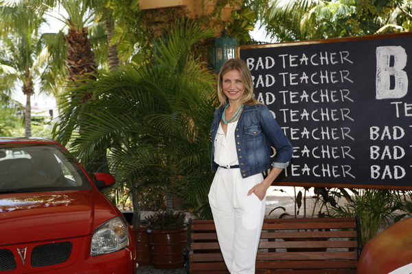 «Очень плохая училка». Кэмерон Диаз на фотосессии фильма «Очень плохая училка» в Мексике. Фото: SPE Inc./Matt Dames via Getty Images