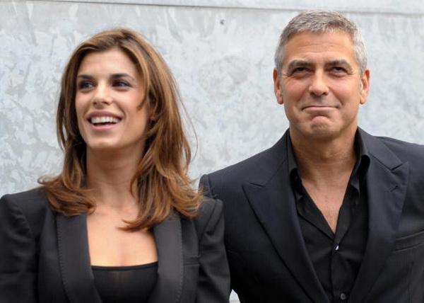 Джордж Клуни. Джордж Клуни со своей девушкой Элизабет Каналис. 2010 год. Фото: GIUSEPPE CACACE/AFP/Getty Images