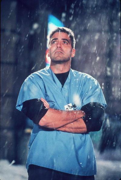 Джордж Клуни. Джордж Клуни в сериале «Скорая помощь». 1998 год. Фото: Getty Images