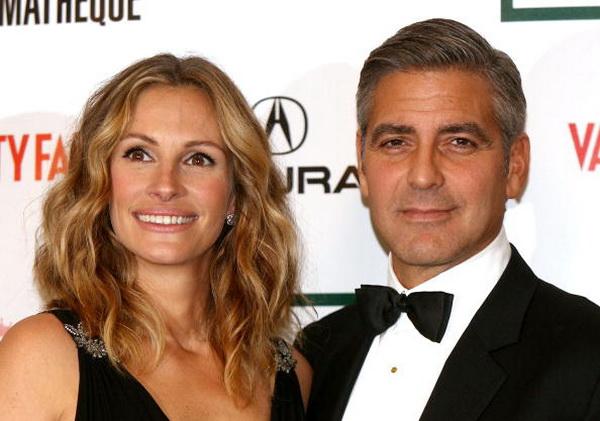 Джордж Клуни. Джулия Робертс и Джордж Клуни. 2006 год. Фото: Kevin Winter/Getty Images