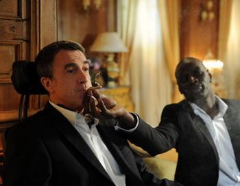 «1+1». Франсуа Клюзе и Омар Си в фильме «1+1». Фото с сайта kino-teatr.ru
