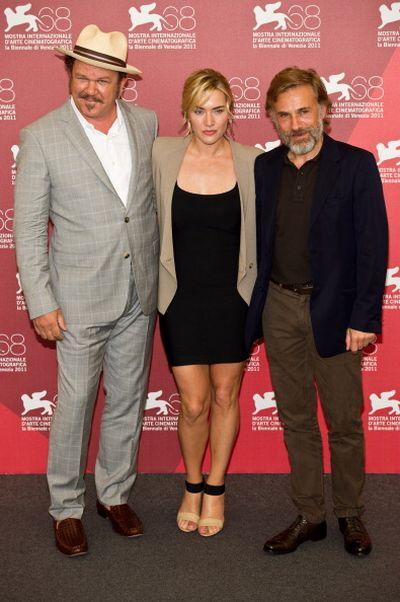 «Резня». Джон Си Райли, Кейт Уинслет и Кристоф Вальц представили фильм «Резня» на кинофестивале в Венеции. Фото: Ian Gavan/Getty Images for Yaeger LeCoultre