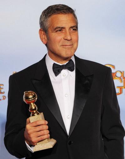Золотой глобус. 69-я церемония вручения призов. Актер Джордж Клуни. Фото: Kevin Winter/Getty Imag