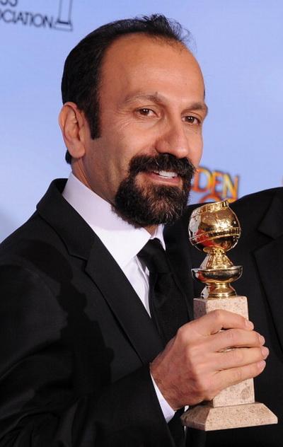 Золотой глобус. 69-я церемония вручения призов. Иранский режиссер Асгар Фархади. Фото: ROBYN BECK/AFP/Getty Images
