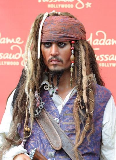 «Пираты Карибского моря: На странных берегах». Джонни Депп на премьере фильма «Пираты Карибского моря: На странных берегах» в Голливуде, Калифорния. Фото:  Jason Merritt/Getty Images