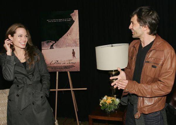 Оливье Мартинес. Анджелина Джоли и Оливье Мартинес на показе фильма «Место во времени». 2007 год. Фото: Evan Agostini/Getty Images for Tribeca Film Festival