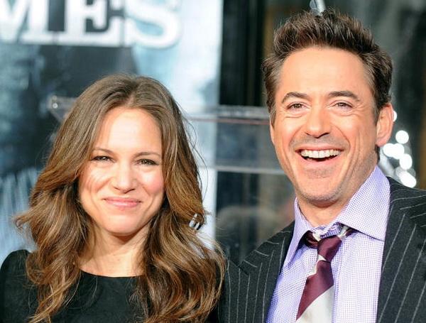 Роберт Дауни мл. и Сюзан Дауни. 2009 год. Фото: GABRIEL BOUYS/AFP/Getty Images
