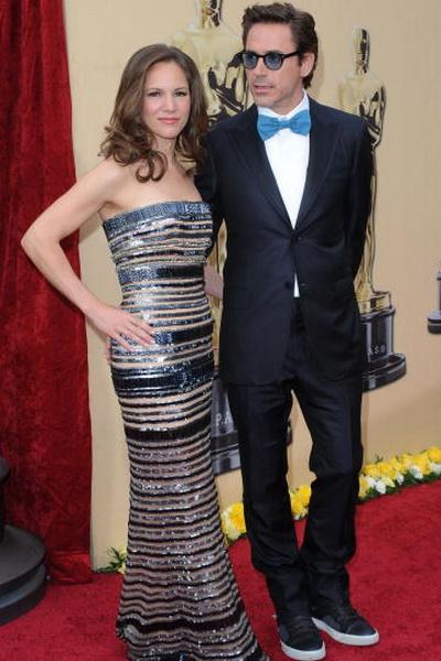 Роберт Дауни мл. и Сюзан Дауни на церемонии вручения призов Киноакадемии США «Оскар». 2010 год. Фото: Jason Merritt/Getty Images