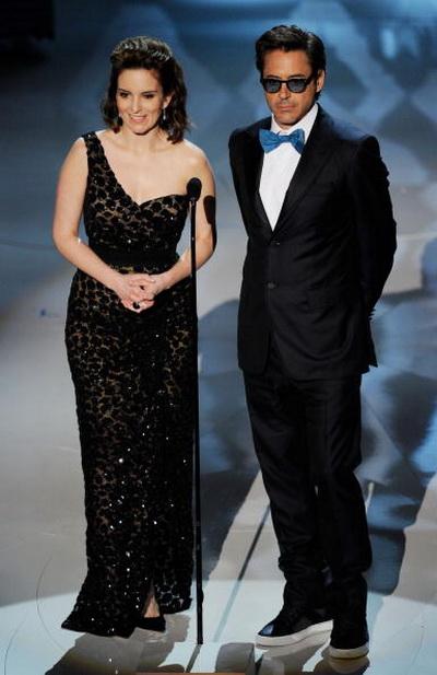 Роберт Дауни мл. и актриса Тина Фэй на церемонии вручения призов Киноакадемии США «Оскар». 2010 год. Фото: Kevin Winter/Getty Images