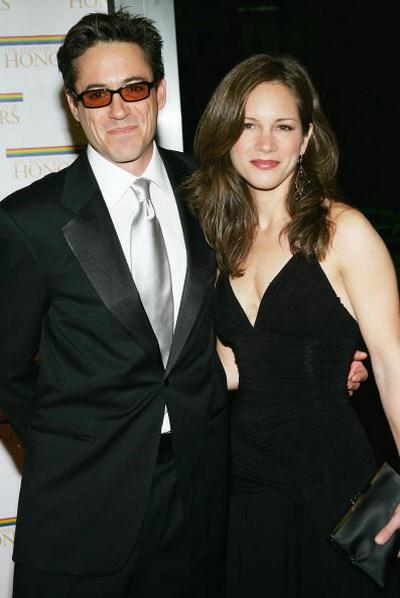 Роберт Дауни мл. и Сюзан Левин. Фото: Evan Agostini/Getty Images