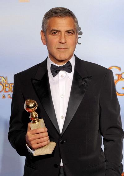 «Потомки». Актер Джордж Клуни на 69-й церемонии вручения «Золотого глобуса». Фото: Kevin Winter/Getty Images