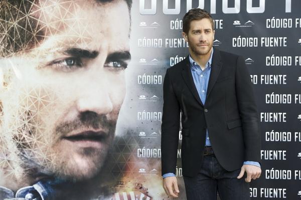 «Исходный код». Актер Джейк Джилленхол на премьере фильма «Исходный код» в Мадриде, Испания. Фото: Carlos Alvarez/Getty Images
