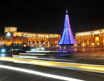 Столица Армении Ереван. Фото: KAREN MINASYAN/AFP/Getty Images