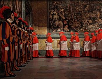«У нас есть Папа!». Кадр из фильма. Фото с сайта kino-teatr.ru