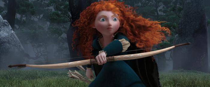«Храбрая сердцем». Кадр из анимационного фильма «Храбрая сердцем».