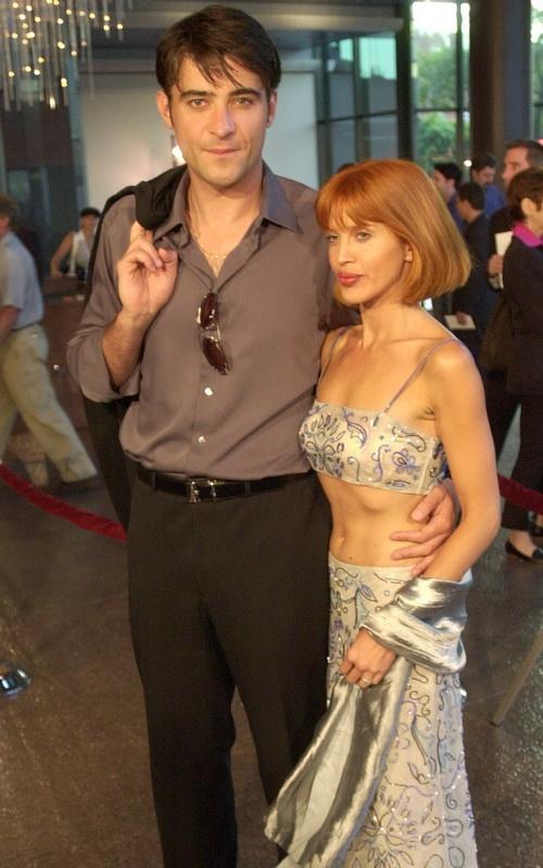 Горан Вишнич с супругой посетили показ фильма «На самом дне». 2001 год. Фото: Daniel Kern/Getty Images