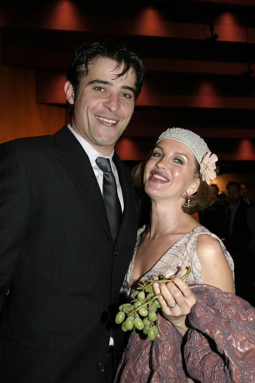 Горан Вишнич с супругой. 2004 год. Фото: Giulio Marcocchi/Getty Images