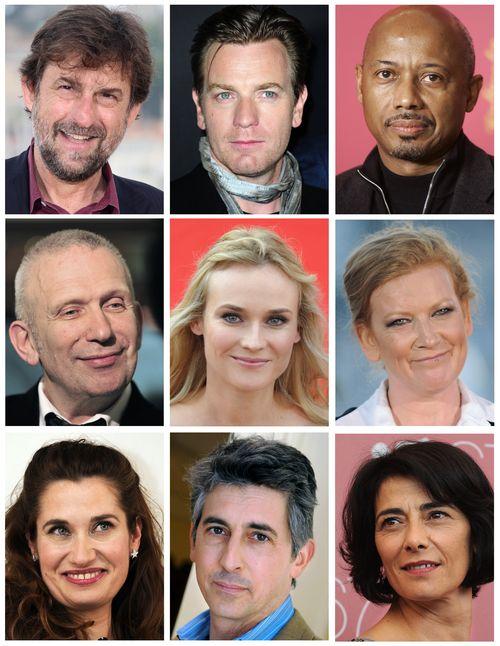 Команда жюри 65-го Каннского кинофестиваля. Фото: DSK/AFP/GettyImages
