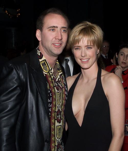 Николас Кейдж и Теа Леони на премьере фильма «Семьянин» в Лос-Анджелесе.  2000 год. Фото: Kevin Winter/Getty Images