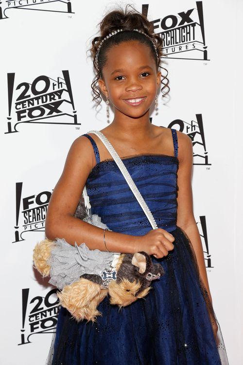 «Оскар» 2013: отголоски незабываемого торжества. Самая молодая номинантка на «Оскар» — 9-летняя Куаванжаней Уоллис на церемонии вручения призов «Оскар». Фото: Imeh Akpanudosen/Getty Images