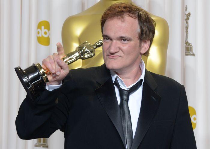 «Оскар» 2013: отголоски незабываемого торжества. Квентин Тарантино на церемонии вручения призов «Оскар». Фото: JOE KLAMAR/AFP/Getty Images